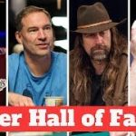 Which Poker Players Were Nominated for the Poker Hall of Fame?